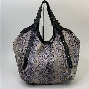 Cynthia Vincent snake hobo bag